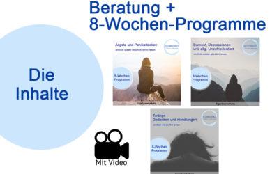Inhalte 8-Wochen-Programme