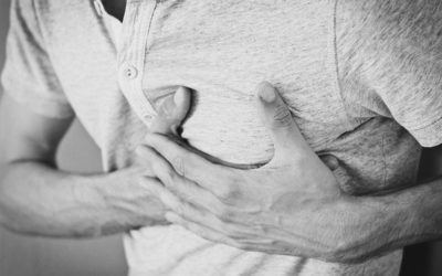 Druck auf der Brust + Brustenge