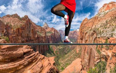 Wie findet man seine Balance im Leben?