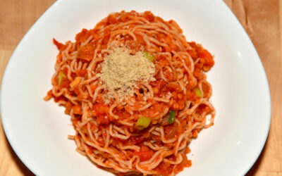 Spaghetti Bolognese – vegan und glutenfrei